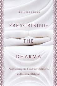 "cover of book titled ""prescribing the dharma"""
